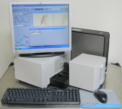 8453 UV/Vis Spectrophotometer G1103A with Single Cell Holder