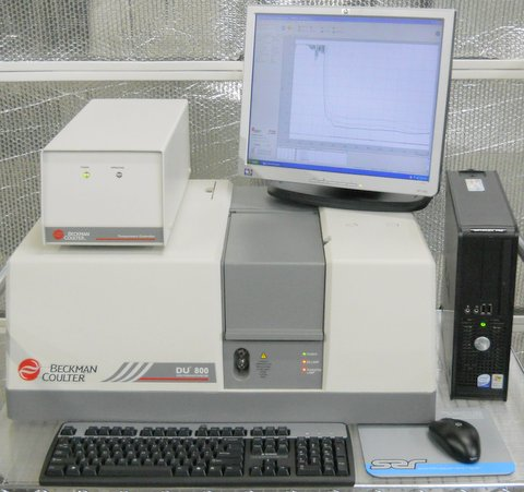 DU 800 UV/VIS Spectrophotometer