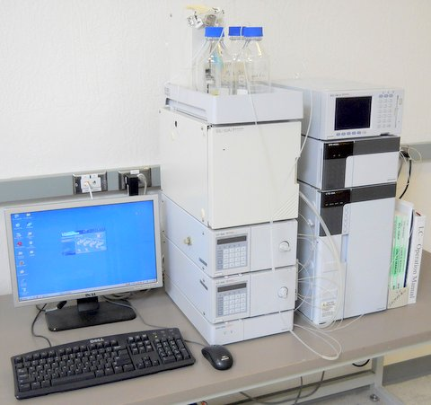 HPLC System with Computer/Software Control