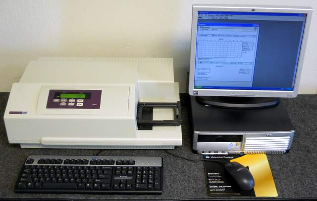 SpectraMax 384/340pc Microplate Spectrophotometer