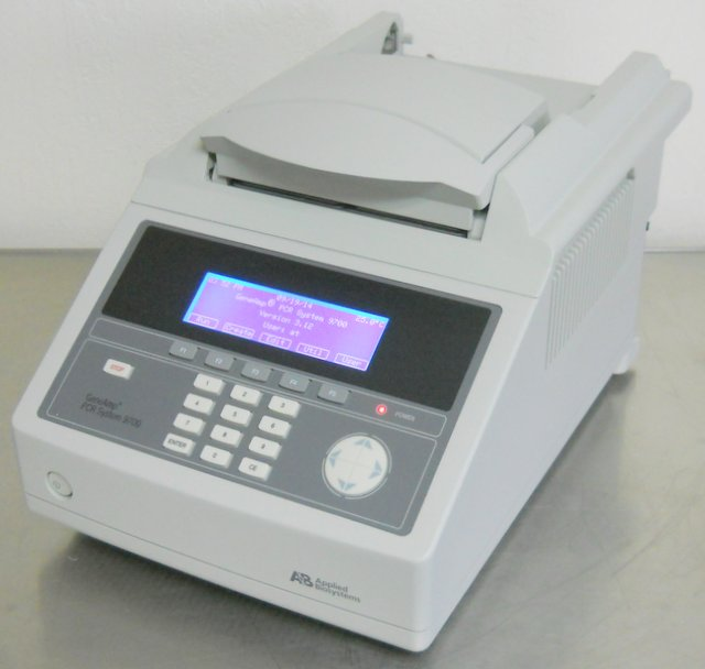 GeneAmp PCR System 9700 with Dual 96-Well Sample Block Module