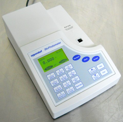 BioPhotometer UV/Vis Spectrophotometer
