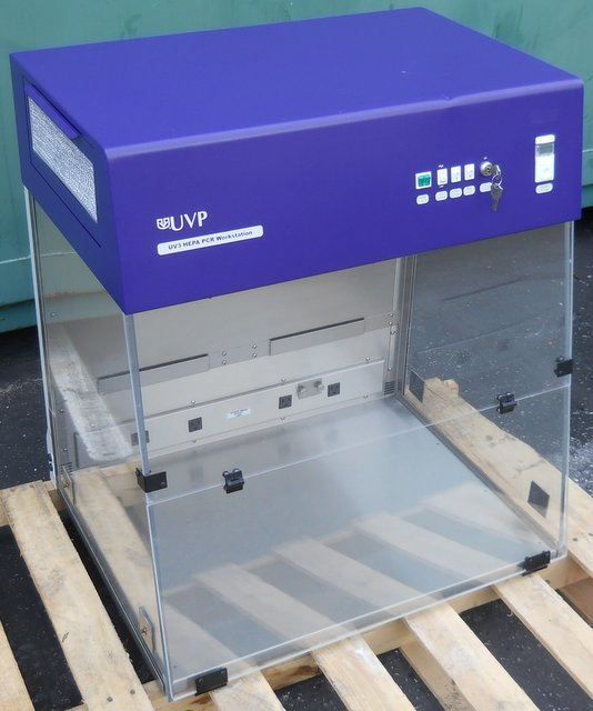 UV3 HEPA PCR Workstation