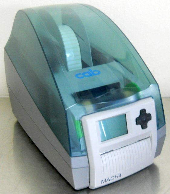 Mach4 Barcode Label Printer