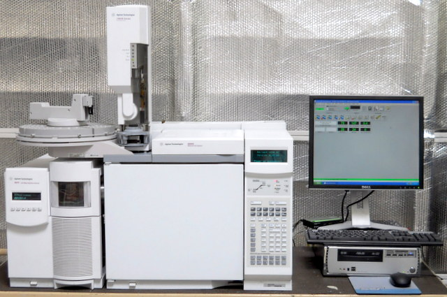 6890N GC Gas Chromatograph with 5975 MSD