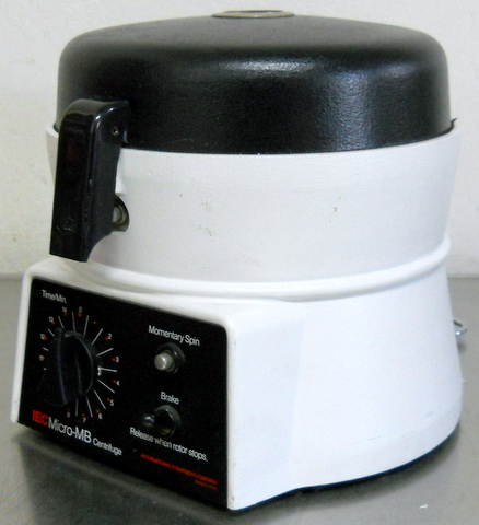 Micro-MB Benchtop Microcentrifuge