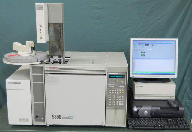 5890E Series II Plus GC Gas Chromatograph