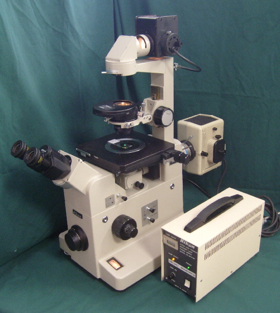 Nikon Diaphot Fluorescence Inverted Research