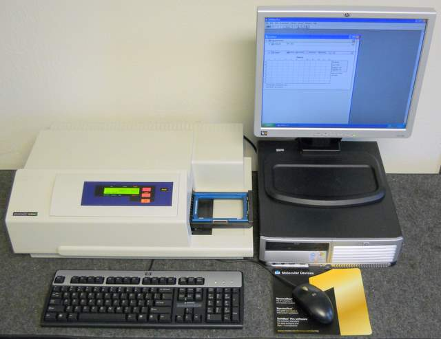 SpectraMax Gemini XS Microplate Top Read Fluorescence Spectrophotometer